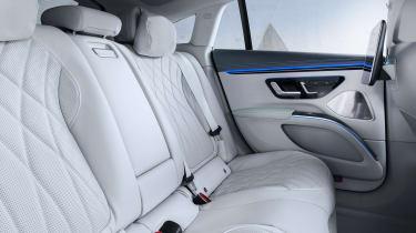2021 Mercedes EQS rear seats