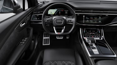 Audi SQ7 TDI - Interior dashboard view