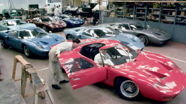 In competition, the GT40 was highly effective, and remains an iconic road and race car