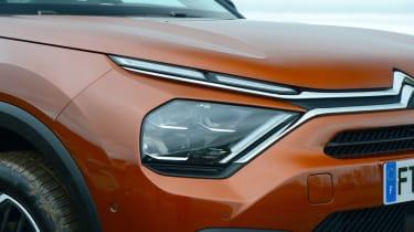 Citroen C4 hatchback headlights