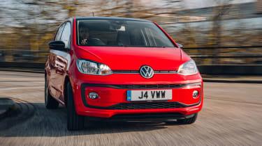 Volkswagen up! hatchback front end
