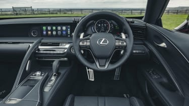 Lexus LC Convertible interior