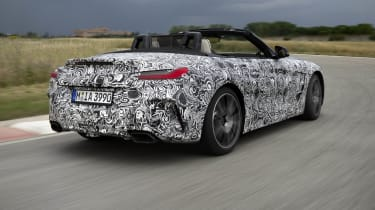 The new BMW Z4 is expected to cost around £38,000