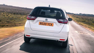 Honda Jazz hatchback rear tracking