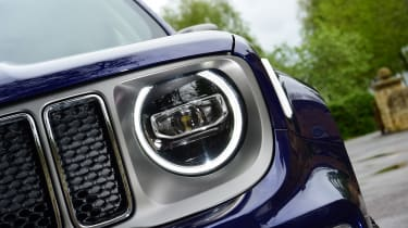 Jeep Renegade LED headlight