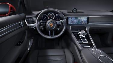 2020 Porsche Panamera Turbo S interior
