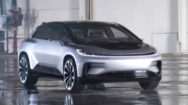 Faraday Future FF 91 is capable of 0-60mph in 2.39seconds, according to its maker