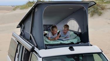 2019 Volkswagen California campervan - pop-up roof