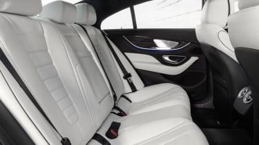 2021 Mercedes CLS - rear seats