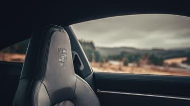Porsche 911 coupe front seats