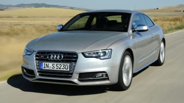 Audi S5 Coupe - front 3/4 dynamic