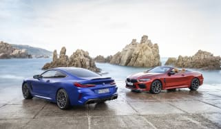 BMW M8 Competition coupe and convertible - static