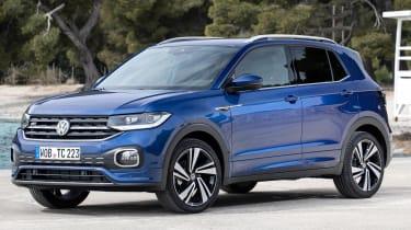 Volkswagen T-Cross 2019 front quarter