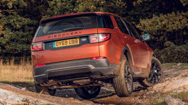 Land Rover Discovery Sport rear off-road