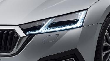 2020 Skoda Octavia headlight