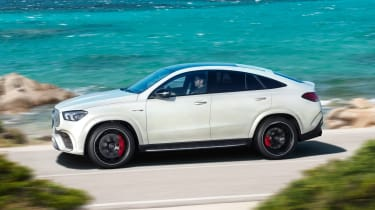 2020 Mercedes-AMG GLE 63 S Coupe side panning