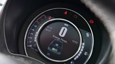 Fiat 500 mild hybrid digital instruments