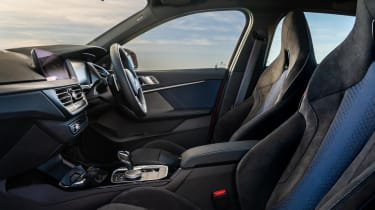 BMW M135i xDrive - interior front seats