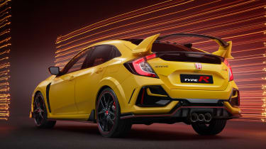 Honda Civic Type R Limited Edition - rear view