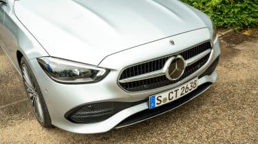 Mercedes C-Class Estate nose
