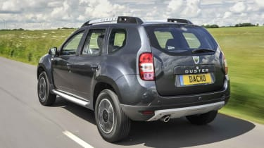 You can get four-wheel drive for about £2,000 extra, and with this the Duster is an adept off-road vehicle