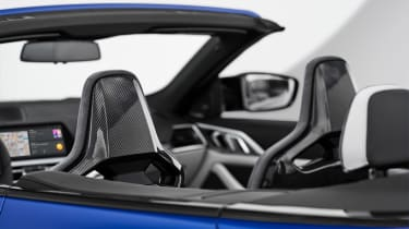 2021 BMW M4 Competition Convertible M xDrive - front seats