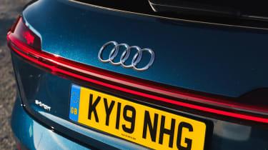 Audi e-tron SUV badge