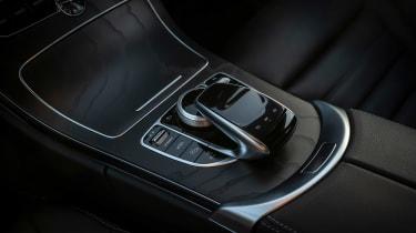 Mercedes C-Class saloon gear selector