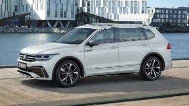 2021 Volkswagen Tiguan Allspace - front 3/4 static