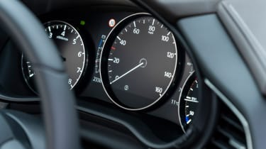 Mazda CX-30 SUV instruments
