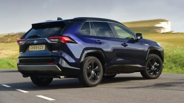 Toyota RAV4 Dynamic - rear 3/4 view static