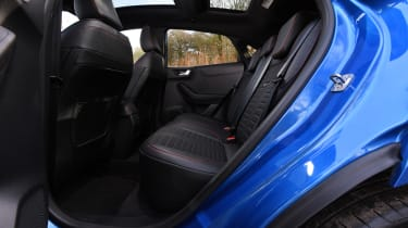 Ford Puma SUV rear seats