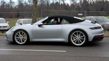 2019 Porsche 911 (992) Cabriolet side view
