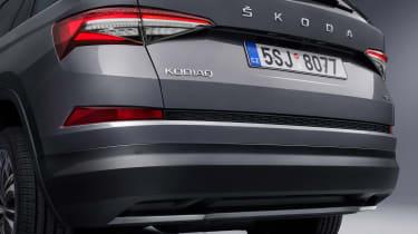 2021 Skoda Kodiaq - rear bumper