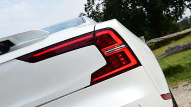 Polestar 1 coupe rear lights
