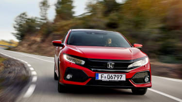 Whether you like the looks or not, check the Civic out in the metal - photographs don't really do it justice