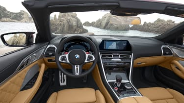BMW M8 Competition convertible - interior