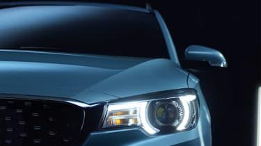 MG ZS EV headlight