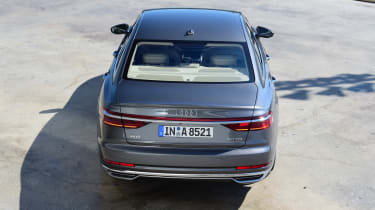 Although its 'level 3' autonomous features aren't yet approved for use, the A8 is a pleasure to drive