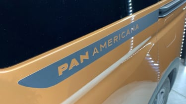 Volkswagen Caddy Pan Americana badge