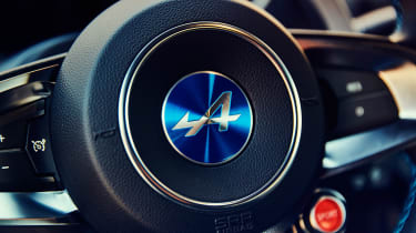 Alpine A110 coupe steering wheel
