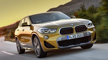 The X2 slots between the X1 and X3 in BMW's SUV range, with a focus on style over outright practicality