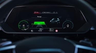 Audi e-tron Sportback SUV Virtual Cockpit