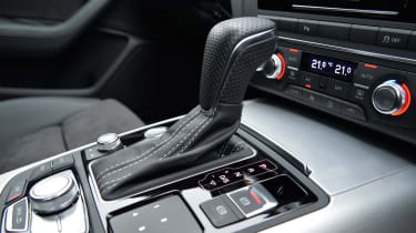 Audi's S tronic semi-automatic gearbox is a highlight of the A6 Avant