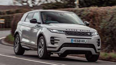 Range Rover Evoque SUV front cornering