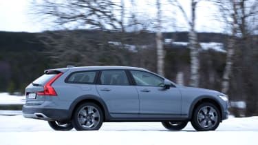 Current Volvo styling is a far cry from the square rigged, bulky Volvos of old