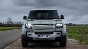 Land Rover Defender SUV front static