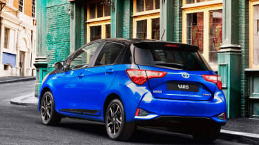 As well as the 1.5-litre petrol, there's a 1.0-litre model and a Yaris Hybrid