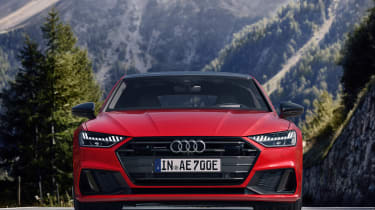Audi A7 plug-in hybrid front end static