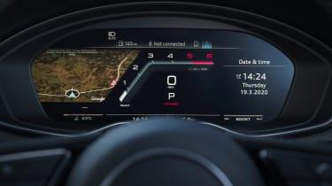Audi S5 Coupe digital instruments
